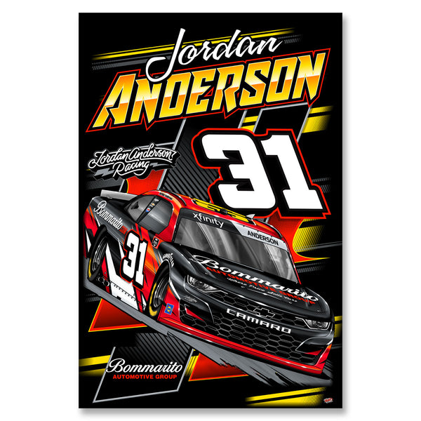 "Jordan Anderson ""Time to Go"" Poster"