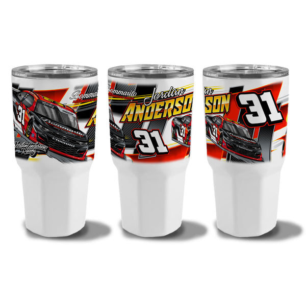 "Jordan Anderson ""Time To Go"" 30oz Tumbler"