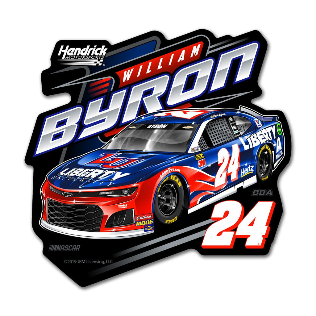 "William Byron ""Liberty"" Decal"