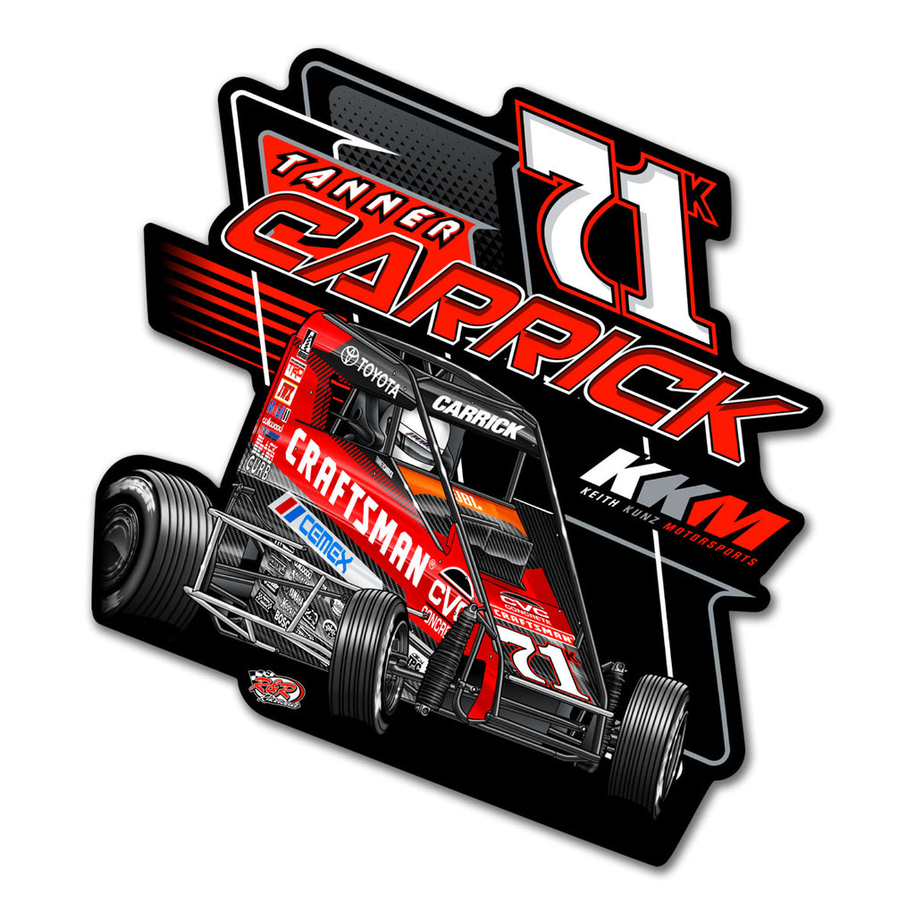 "Tanner Carrick ""Tools of the Trade"" Decal"