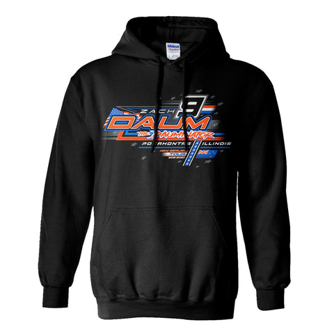 Zach Daum New Zealand Midget Dirt Racing Hoodie