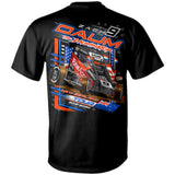 Zach Daum New Zealand Midget Dirt Racing Black T-Shirt