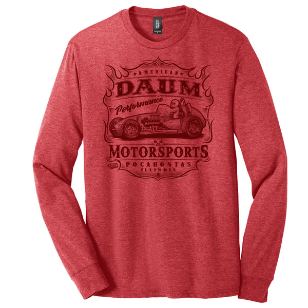 "Zach Daum ""Ain't Nothin' Faster"" Long Sleeve T-Shirt"