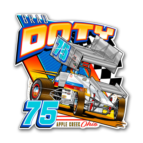 "Brad Doty ""Link to the Past"" Decal"