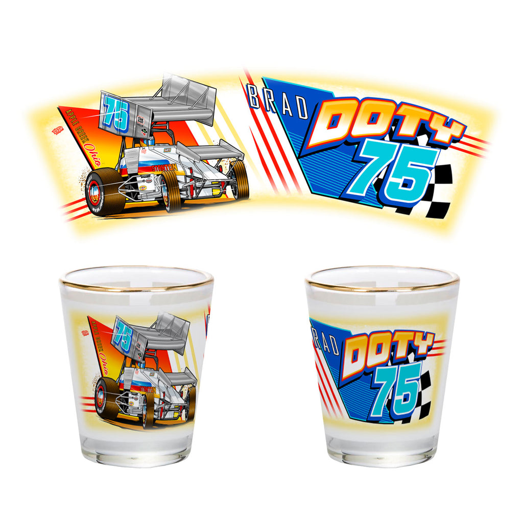 "Brad Doty ""Link to the Past"" Shotglass"