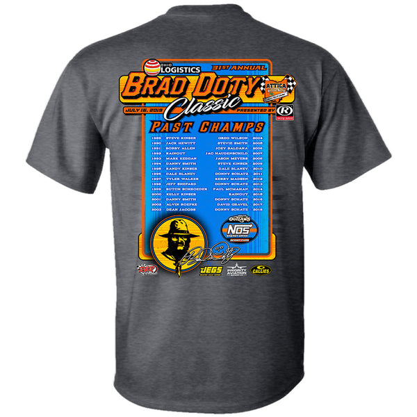 Brad Doty Classic Sprint Car Winners T-Shirt