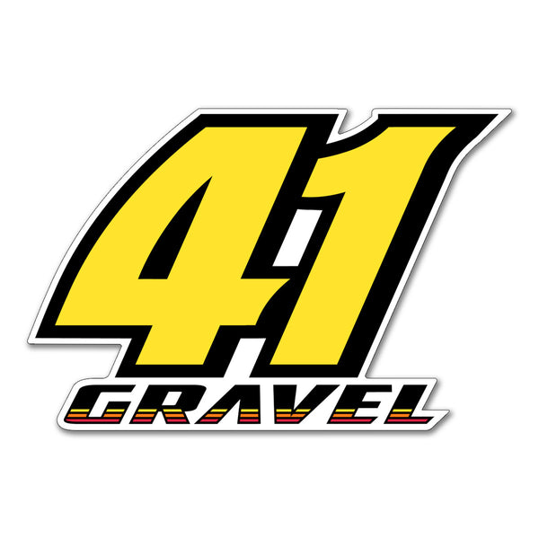 "David Gravel ""41"" Decal"
