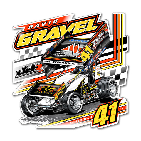 "David Gravel ""Fresh Start"" Decal"