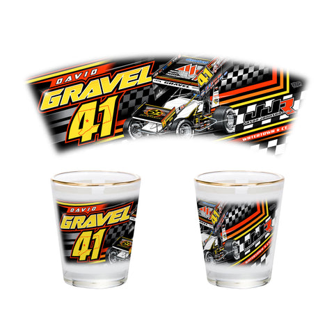 "David Gravel ""Fresh Start"" Shotglass"