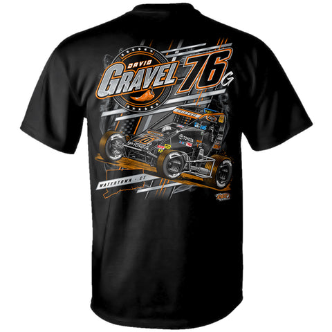"David Gravel ""Slinging Dirt Indoors"" T-Shirt"