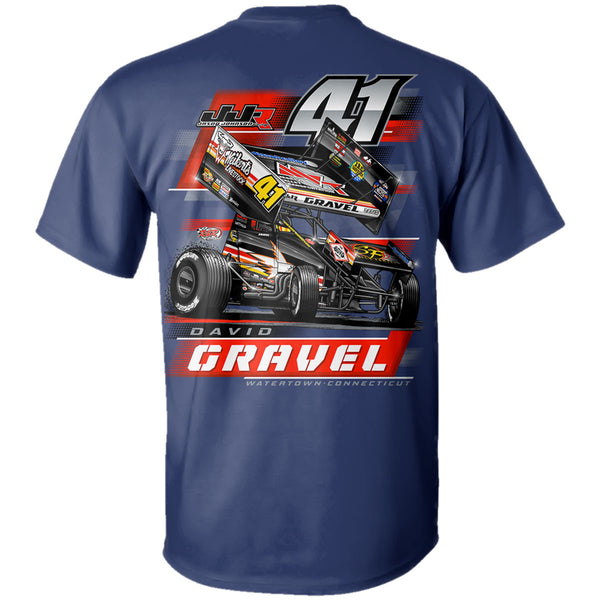 "David Gravel ""Back in Black"" T-Shirt"