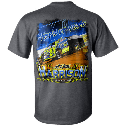 "Mike Harrison ""Top's Up Here"" T-Shirt"
