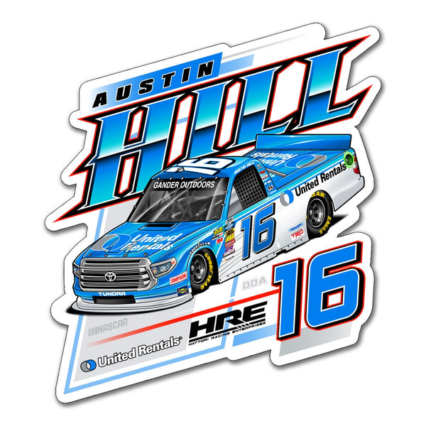 "Austin Hill ""United"" Decal"