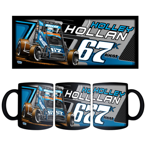 "Holley Hollan ""Driven"" Black Mug"