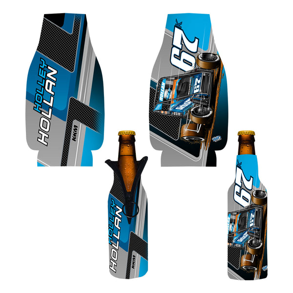 "Holley Hollan ""Driven"" Bottle Coozie"