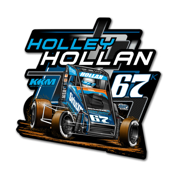 "Holley Hollan ""Driven"" Decal"