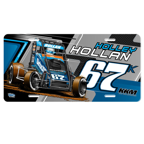 "Holley Hollan ""Driven"" License Plate"