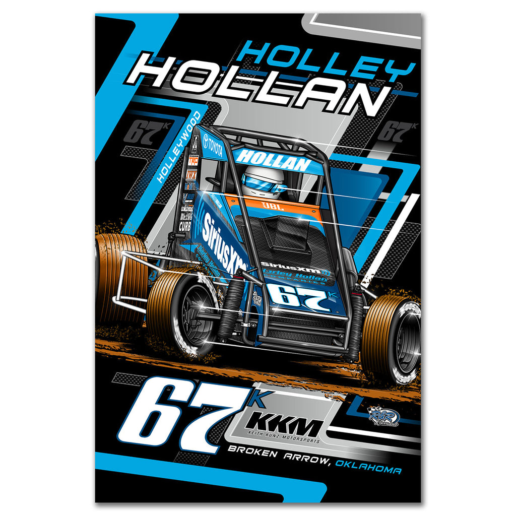 "Holley Hollan ""Driven"" Poster"