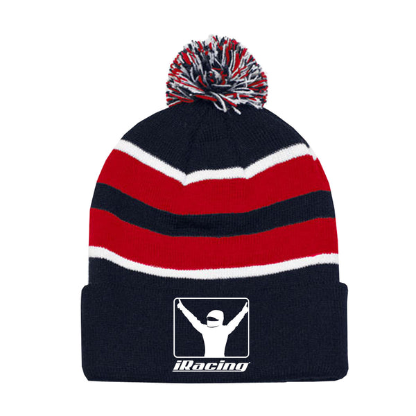 "iRacing ""White Flag"" Beanie"