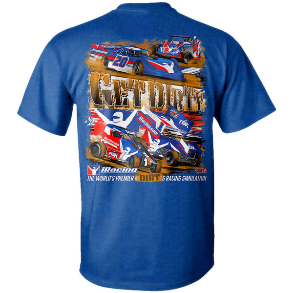 "iRacing ""Get Dirty"" T-Shirt"