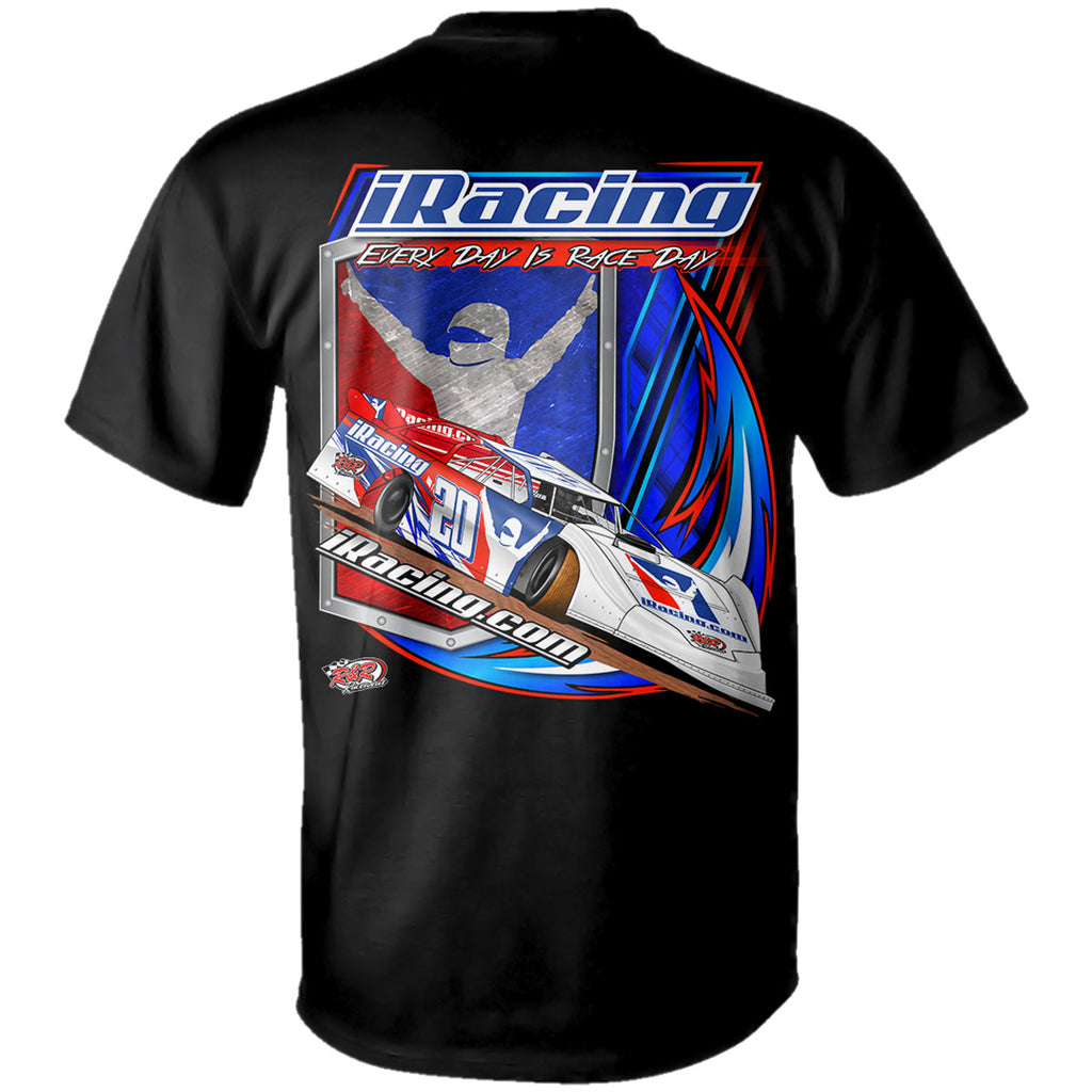 "iRacing ""Hitting the Pavement"" T-Shirt"