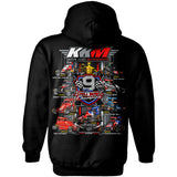 "Keith Kunz Motorsports ""9-Time Chili Bowl Champs"" Hoodie"
