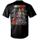 "Keith Kunz Motorsports ""9-Time Chili Bowl Champs"" T-Shirt"