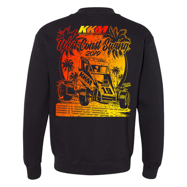"Keith Kunz Motorsports ""West Coastin'"" Zip Sweatshirt"