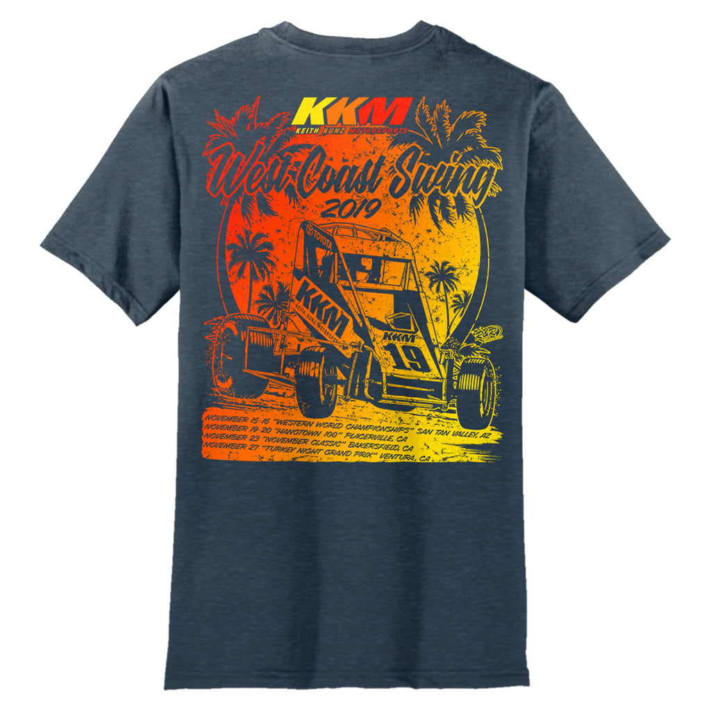 "Keith Kunz Motorsports ""West Coastin'"" T-Shirt"
