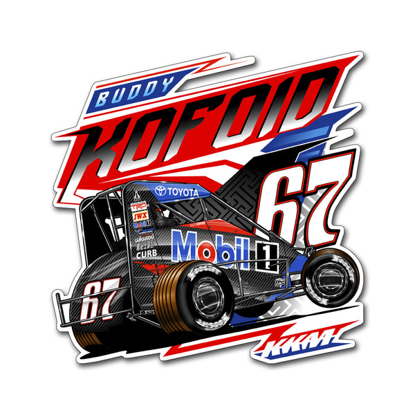 "Buddy Kofoid ""Mobilized"" Decal"