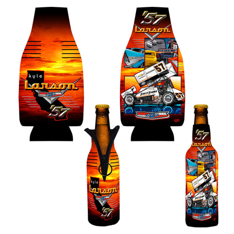 "Kyle Larson ""'57 Chevy"" Bottle Coozie"