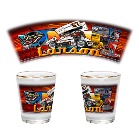 "Kyle Larson ""'57 Chevy"" Shot Glass"