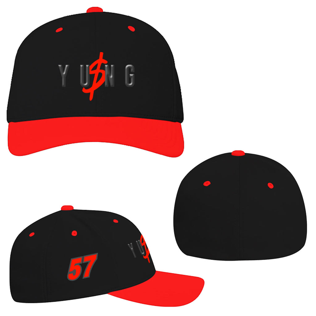 "Kyle Larson ""Yung Money Speed"" Flexfit Hat"