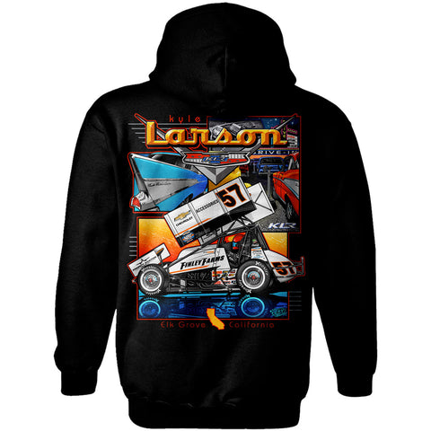 "Kyle Larson ""'57 Chevy"" Hoodie"