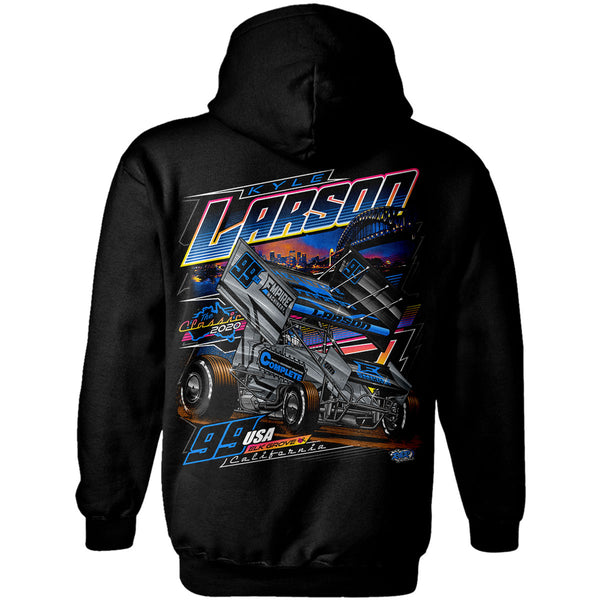 "Kyle Larson ""Compete to Complete"" Hoodie"