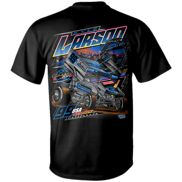 "Kyle Larson ""Compete to Complete"" T-Shirt"