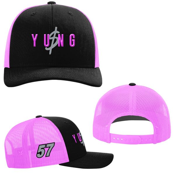 "Kyle Larson ""Yung Money Obsession"" Snapback Hat"
