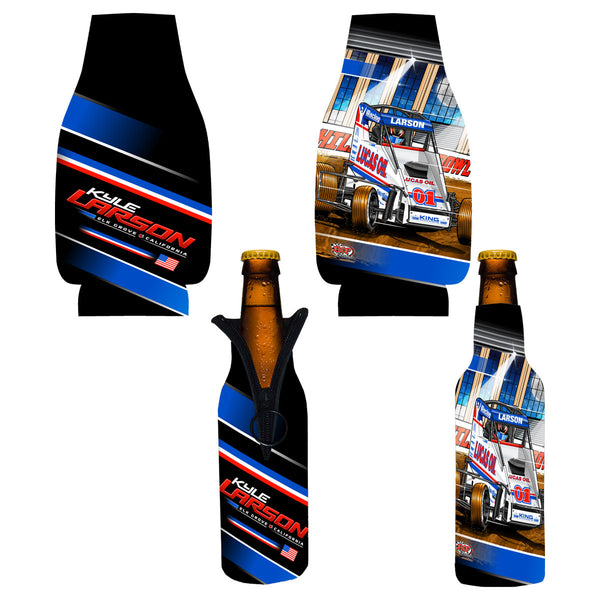 "Kyle Larson ""Drilling for Oil"" Bottle Coozie"