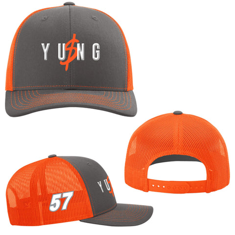 "Kyle Larson ""Yung Money Flashy"" Snapback Hat"