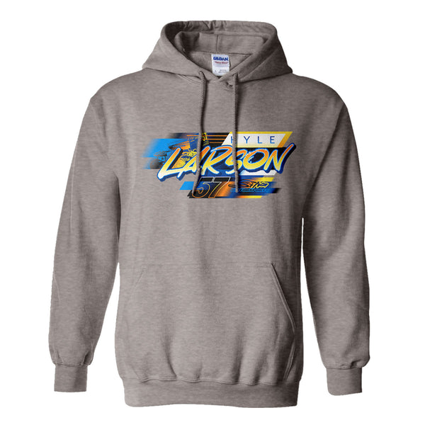 Kyle Larson Sprintcar Katelyn Sweet NASCAR Graphite Heather Hoodie