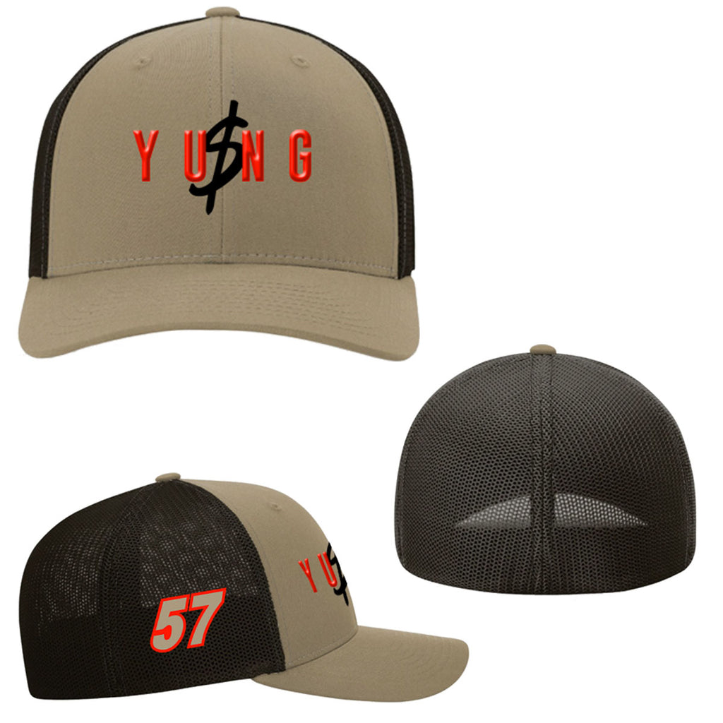"Kyle Larson ""Yung Money Casual"" Trucker R-Flex Hat"