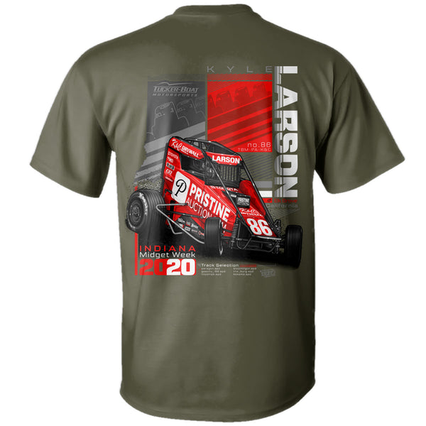 "Kyle Larson ""Pristine Speed' T-Shirt"