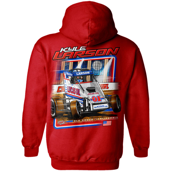 "Kyle Larson ""Drilling for Oil"" Hoodies"