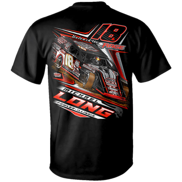 "Michael Long ""Unleash The Rage"" T-Shirt"
