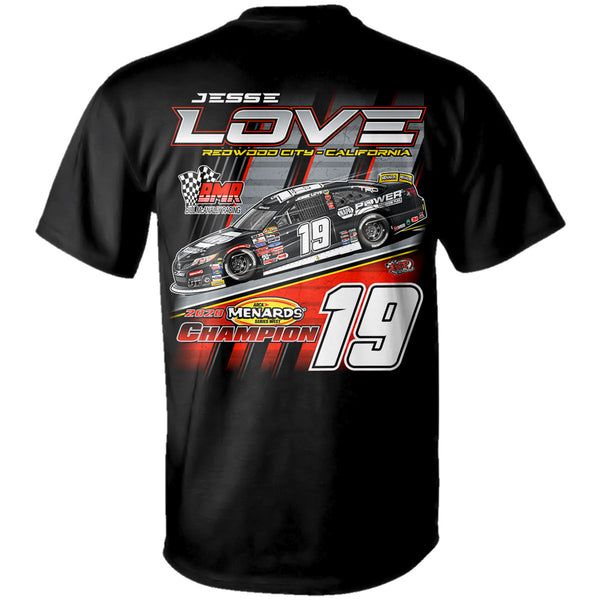"Jessie Love ""ARCA West Champion"" T-Shirt"