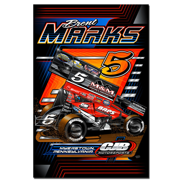 "Brent Marks ""Number Five"" Poster"