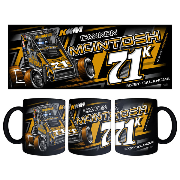 "Cannon McIntosh ""Golden Opportunity"" Black Mug"