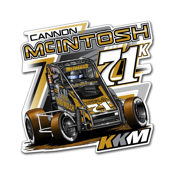 "Cannon McIntosh ""Golden Opportunity"" Decal"