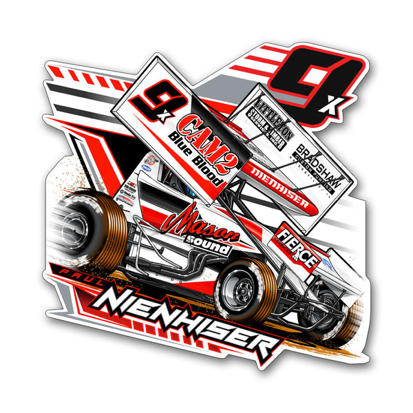 "Paul Nienhiser ""Time to Fly"" Decal"