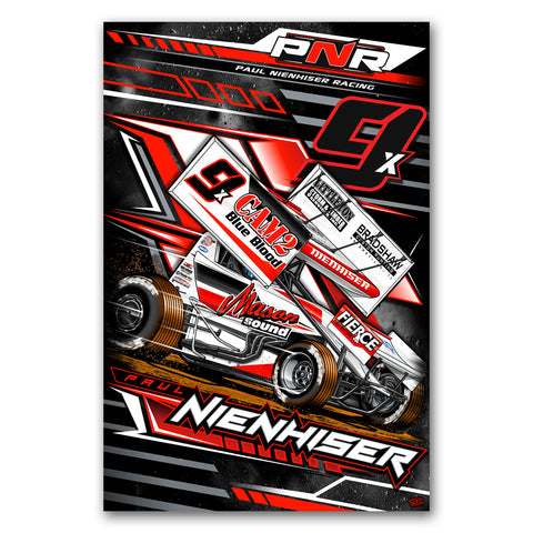 "Paul Nienhiser ""Time to Fly"" Poster"